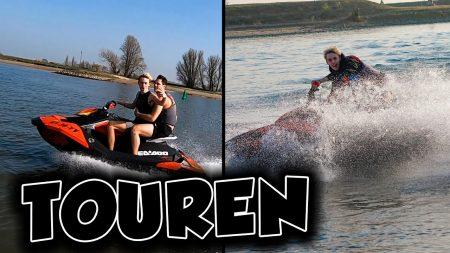 UberQuin – Touren Met Twee Waterscooters!