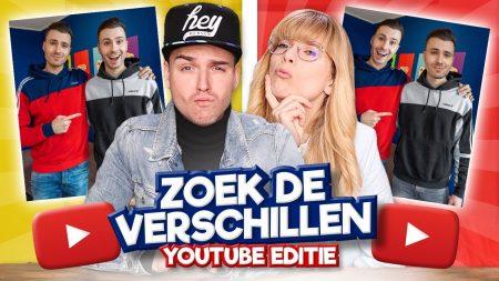 Team Dylan Haegens – Zoek de Verschillen – YouTube Editie