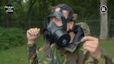 Klaas Kan Alles – Binnen 90 Sec. Een Gasmasker Op? – Kan Klaas Een Dag CBRN-Specialist Zijn?