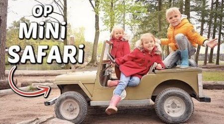 De Bellinga's – De Kinderen Gaan Op Mini Safari 🏞 + Pijl & Boog Schieten #2088