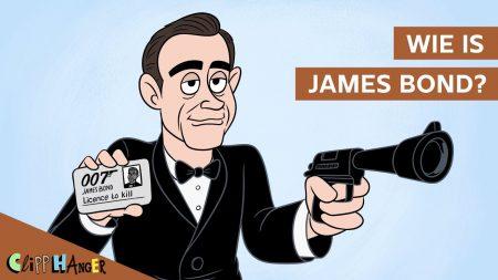 Clipphanger – Wie Is James Bond?