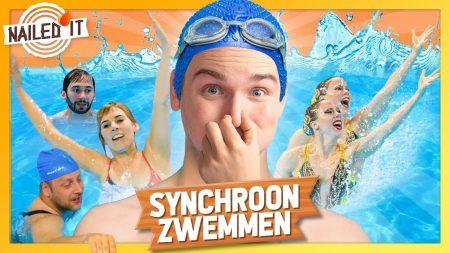 Dylan Haegens – Synchroonzwemmen! – Nailed It [Aflevering 5/Seizoen2]