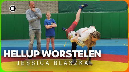Zappsport – Hoe Werk Je De Tegenstander Tegen De Grond? – Hellup Worstelen Met Jessica Blaszka