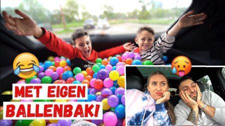 Familie Lakap – 1 Dag Overleven In ONze Auto *Met 3 Kids* #567