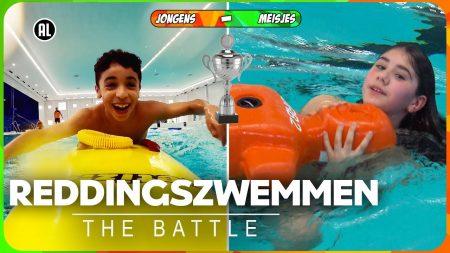 Zappsport- Zwemmen Of Verdrinken: Wie Redt De Meeste Levens? – Battle Reddingszwemmen