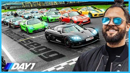 JayJay Boske DAY1 – Racen Met Koenigsegg (€2.000.000,-) Op TT Circuit Assen! – DAY1 Racing Special