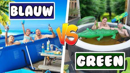 De Bakkertjes – Alles Groen In Het Zwembad vs Alles Blauw In Het Zwembad #462