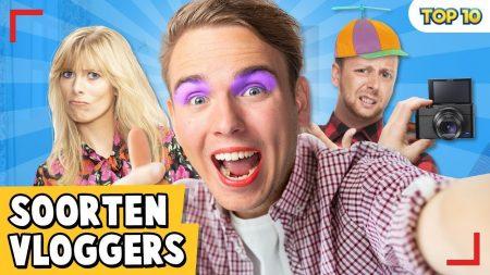 Dylan Haegens – 10 Soorten Vloggers!
