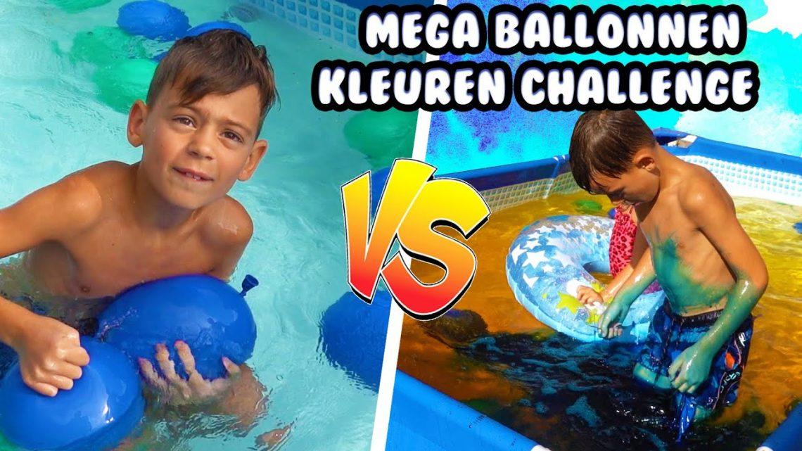 De Bakkertjes – Mega Waterballonnen Challenge: Team Groen vs Team Blauw #464