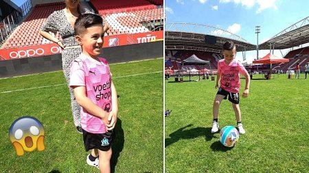 Familie Lakap – Een Speciaal Moment: Hij Mag Voetballen In Een Voetbalstadion! ⚽️🙌 #470
