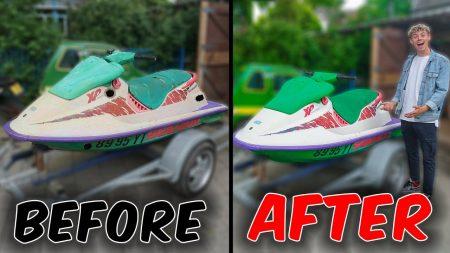 UberQuin – Eigen Waterscooter Gebouwd! *Sea Doo XP*