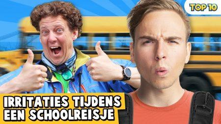 Dylan Haegens – 10 Irritaties Tijdens Een Schoolreisje!