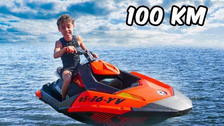 UberQuin – Jetskiën Over 100 KM Zee!