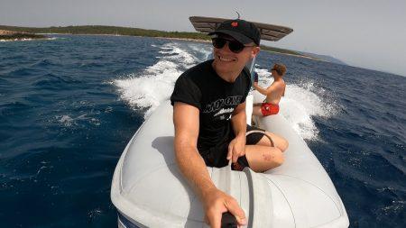 Enzo Knol – Met Een Speedboot Langs Eilanden! #2894