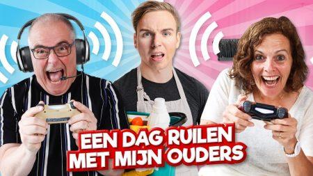 Team Dylan Haegens – Een Dag Ruilen Met Mijn Ouders!