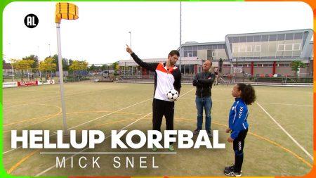 Zappsport – Tips Voor De Perfecte Doorloopbal – Hellup Korfbal Met Mick Snel