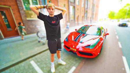 Gio – Dit Is Foute Boel! Mijn Ferrari Stopt Er Ineens Mee… (ANWB Bellen)