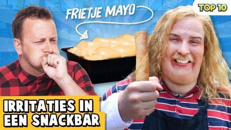 Dylan Haegens – 10 Irritaties In De Snackbar!