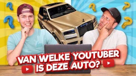 Team Dylan Haegens – Van Welke Youtuber Is Deze Auto?!