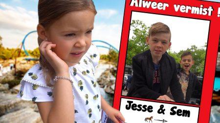 De Bakkertjes – Jesse En Sem Vermist In Een Pretpark! #570
