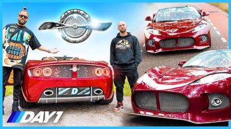 JayJay Boske DAY1 – Van Prototype Naar Supercar?! Spyker B6 Venator Spyder – Daily Driver