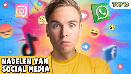 Dylan Haegens – 10 Nadelen Van Social Media!