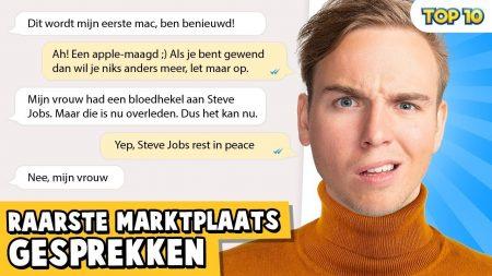 Dylan Haegens – 10 Raarste Marktplaats Gesprekken!
