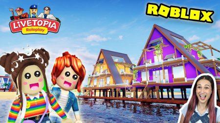 MeisjeDjamila – Voor Het Eerst *Roblox – Livetopia* Ontdekken Met Mijn Zusje! – Let's Play Wednesday