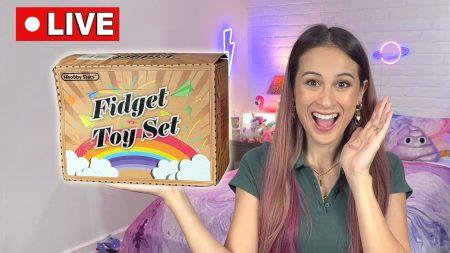 MeisjeDjamila – Live: €100 Mystery Doos Vol Met Fidget Gadgets Openen!