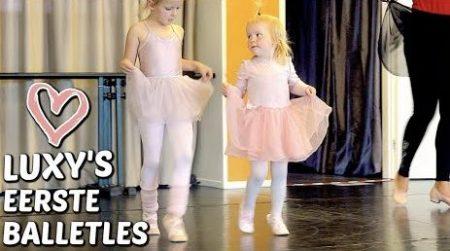 De Bellinga's – Luxy's Eerste Balletles 🩰 #2221