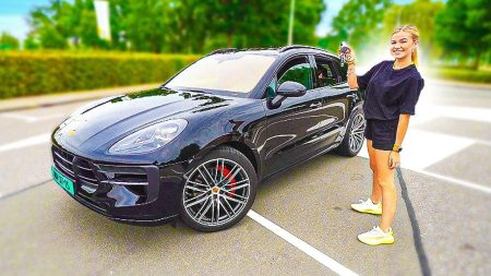 Gio – Proefrit In Jade Haar Eerste Auto! Bizarre Wagen! 🚗😍