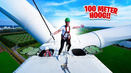 Enzo Knol – Bovenop Een Windmolen Van 100 Meter!! 😲 #2957