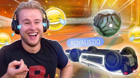 Royalistiq – Ik Scoor Het Raarste Doelpunt Ooit! 😂 – Rocket League Ranked