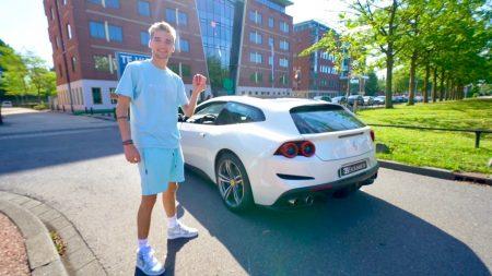 Gio – Proefrit In De Ferrari GTC4LUSSO! Gaat Mijn Porsche Weg?