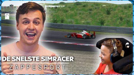 Zappsport – Robbie En Daan Geven Antwoord Op De Vraag: Hoe Word Je Nou De Snelste Simracer?!