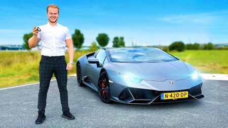 Royalistiq – Mijn Nieuwe Auto! Lamborghini Huracán EVO Spyder.