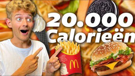 Boaz – 20.000 Calorieën Eten Binnen 12 Uur #680