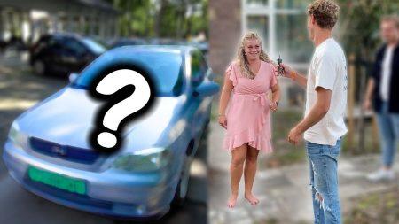 UberQuin – Auto Gekocht Voor Haar 24e Verjaardag!