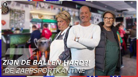 Zappsport – Een Blauw Oog Van Robin Pröpper!! 😱⚽ & 2 Tegen 20 Waterpolo – Zappsportkantine – Aflevering 1