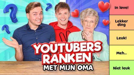 Team Dylan Haegens – Youtubers Ranken Met Mijn Oma!