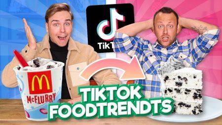 Team Dylan Haegens – TikTok FoodTrends Proberen 2.0!