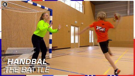 Zappsport – De Beste Handbalkeepster Ooit Bij Zappsport!?💥 – Battle Handbal