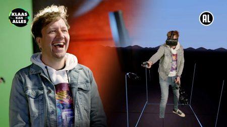 Klaas Kan Alles – Dit Is Vet! – Kan Klaas Lakshmi Verslaan Met Een Virtual Reality Kunstwerk?